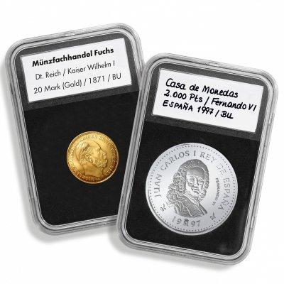 Kapsle na minci plastová QUICKSLAB
