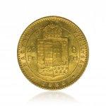 Zlatá mince 8 Forint Maďarsko 5,81 g - obrázek 2