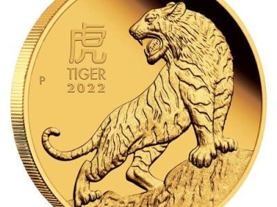 Lunární mince z Austrálie v předprodeji: rok 2022 začal již 3. září 2021