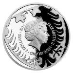Sada tří uncových mincí Český lev 2021 - Ag/Pt/Pd PROOF 3 x 31,1 g - obrázek 3