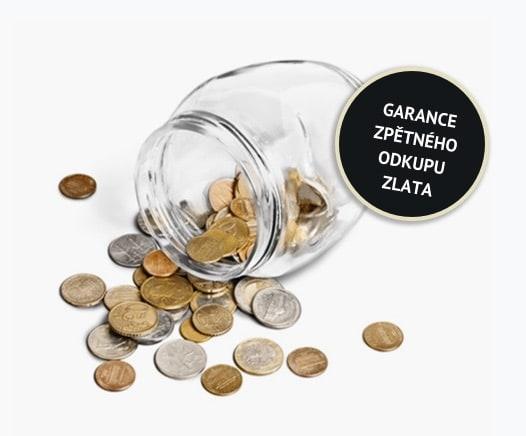 Garance zpětného odkupu zlata